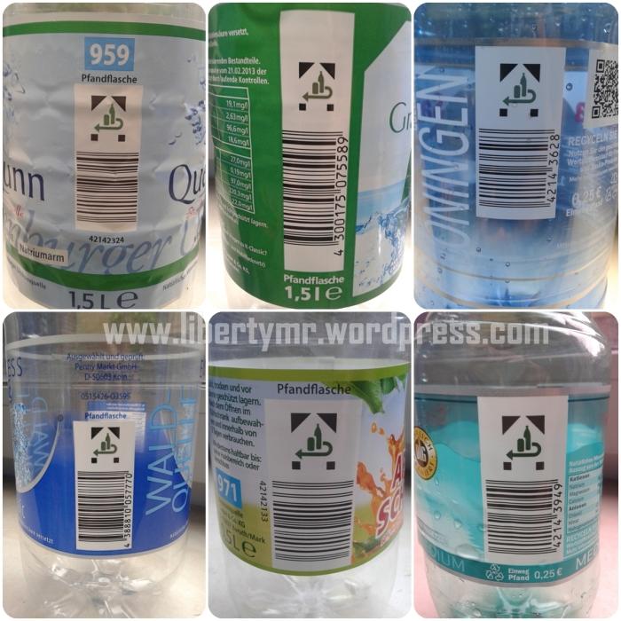 Botol daur ulang berbayar (pfandflasche)