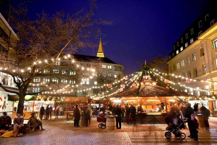 Pasar tradisional di Jerman