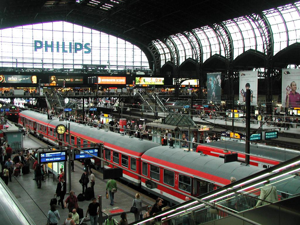Image result for Munchen Hauptbahnhof Jerman