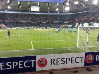 Europa League VFL Wolfsburg vs Inter Milan