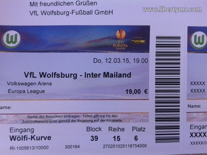 Nonton Europa League VFL Wolfsburg vs Inter Milan