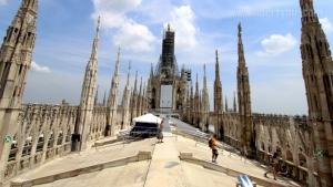 Diatas gedung Katedral
