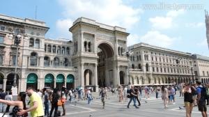 Bangunan Galleria Vittorio Emanuele II