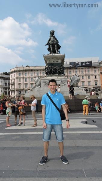 Liburan di Milan Italia, Duomo Milano & Galleria Vittorio Emanuele II (11)