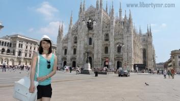 Liburan di Milan Italia, Duomo Milano & Galleria Vittorio Emanuele II (12)