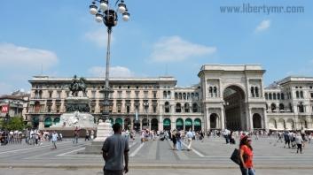 Liburan di Milan Italia, Duomo Milano & Galleria Vittorio Emanuele II (13)