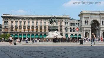 Liburan di Milan Italia, Duomo Milano & Galleria Vittorio Emanuele II (14)