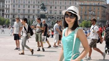 Liburan di Milan Italia, Duomo Milano & Galleria Vittorio Emanuele II (27)