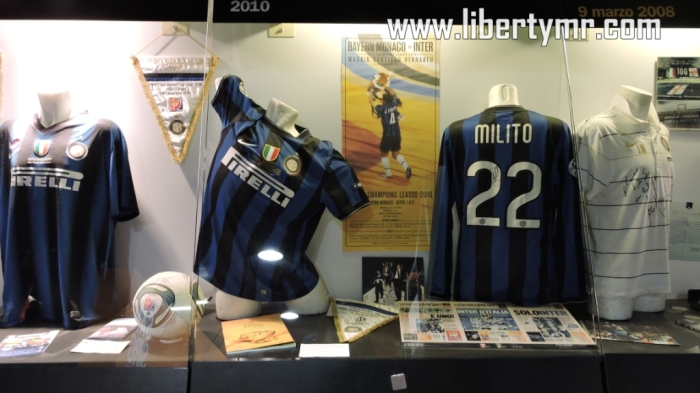 Jersey Inter saat menjuarai Liga Champions Eropa 2010