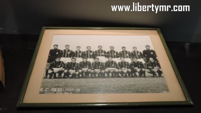 Squad AC Milan musim 1957-1958