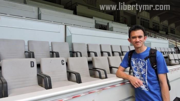 Tempat duduk VVIP (Termasuk presiden Inter Erick Thohir dan keluarga Moratti)